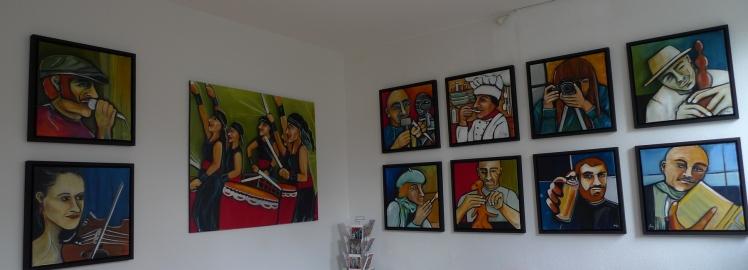 Ausstellung KUNST IN PRAXIS, Bilder Anja Hühn