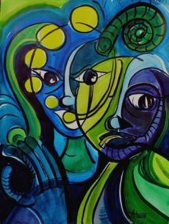 blaue Freunde (2009)
