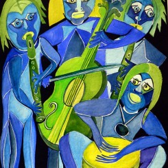 blaue musiker (2006)