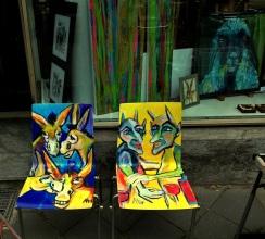 Eselstuhl und Teufelstuhl von Anja Hühn