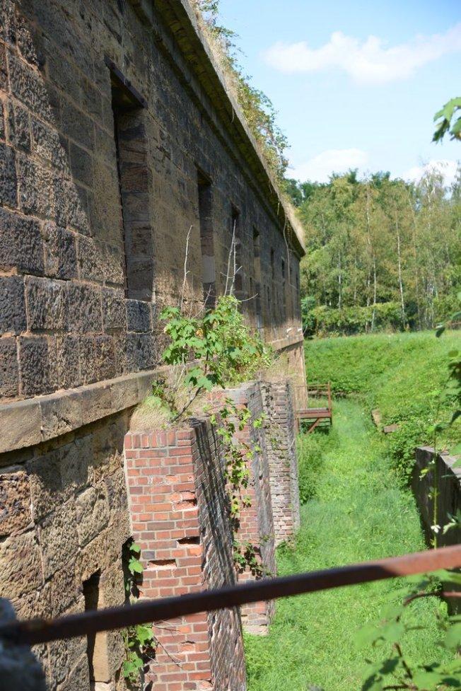 Fort A , Festungsstrasse in Minden - Foto: © Thomas Hühn 2019