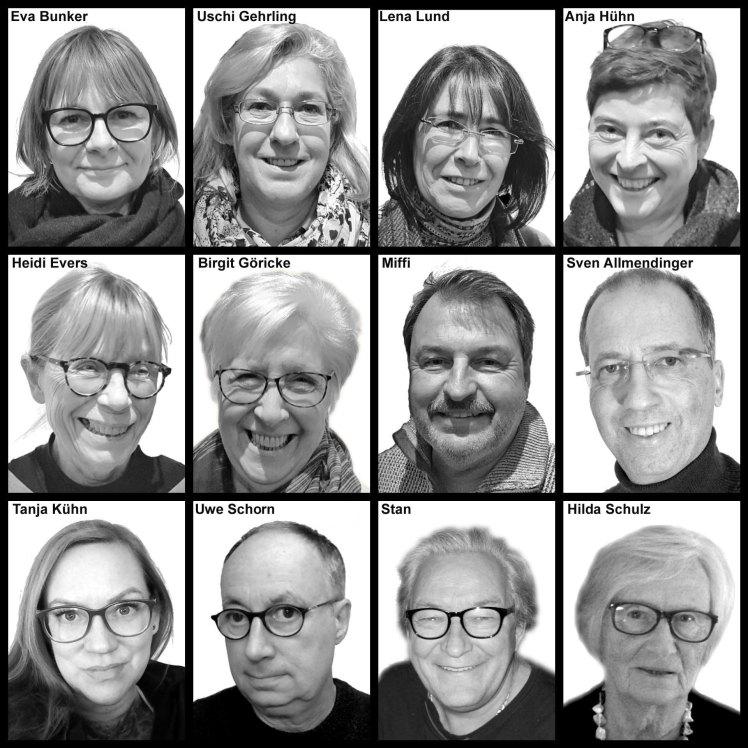 Die 12 NEUEN im H6 - Fotos und Collage ©Sven Allmendinger