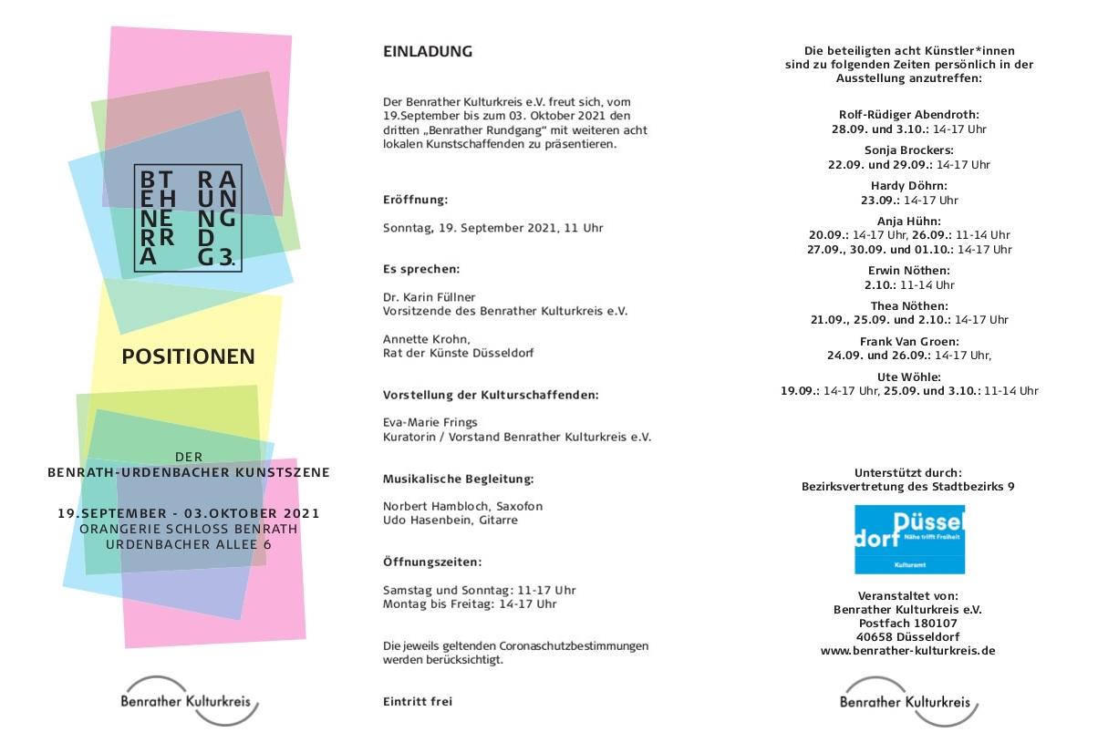 Einladung und Info